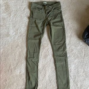 Olive green Cavin Klein Jeans size 2